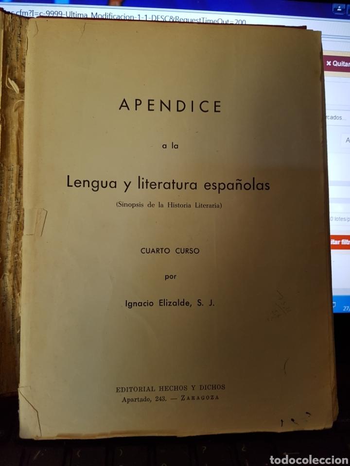 cl35//apéndice a la lengua y literatura español - Comprar Libros de ...