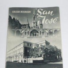 Libros de segunda mano: AMISTAD, COLEGIO-INTERNADO SAN JOSE, HH. MARISTAS LOGROÑO, CURSOS 1957, 58, RUSTICA, SIN PAGINAR, PR. Lote 87750764