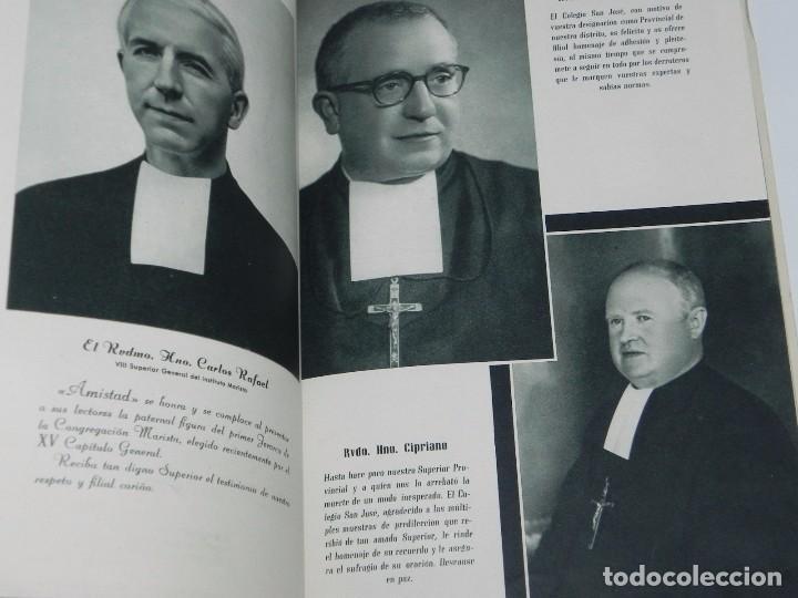 Libros de segunda mano: AMISTAD, COLEGIO-INTERNADO SAN JOSE, HH. MARISTAS LOGROÑO, CURSOS 1957, 58, RUSTICA, SIN PAGINAR, PR - Foto 2 - 87750764
