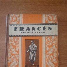 Libros de segunda mano: FRANCES PRIMER CURSO. Lote 88144616