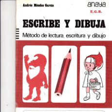 Livres d'occasion: ESCRIBE Y DIBUJA Nº 5. Lote 161727922