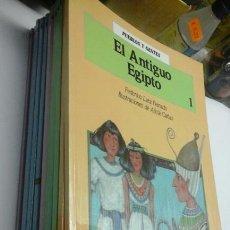 Libros de segunda mano: PUEBLOS Y GENTE.EDITORIAL BRUÑO.12 NUMEROS. Lote 194896457