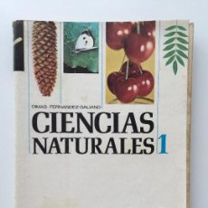 Second hand books - CIENCIAS NATURALES 1 1º - DIMAS FERNÁNDEZ GALIANO - ANAYA 1969 - 89308160