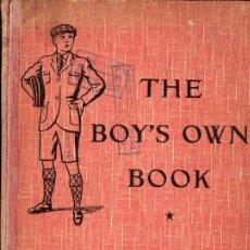 Libros de segunda mano: THE BOY'S OWN BOOK (DIDIER, PARIS, 1942) ENSEÑANZA DE INGLÉS PARA NIÑOS. Lote 89470820