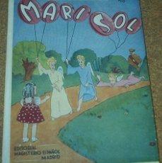 Libros de segunda mano: MARISOL - 1942, PERFECTO ESTADO, TAPAS DURAS, 79 PG.-IMPORTANTE LEER TODO. Lote 89748456