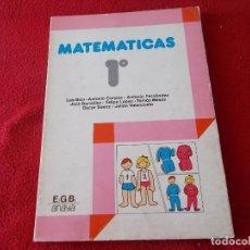 Libros de segunda mano: MATEMATICAS 1º EGB - ANAYA 1981 - ( SIN USAR ). Lote 89748504