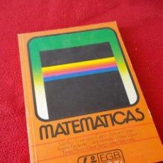 Libros de segunda mano: MATEMATICAS 4º E.G.B - ANAYA 1987 - ( NUEVO , SIN USAR ). Lote 89749608