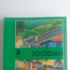 Libros de segunda mano: LIBRO EGB/SOCIEDAD 5ºALVAREZ/MIÑON./ NUEVO¡¡¡¡.. Lote 90035000