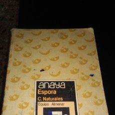 Libros de segunda mano: LIBRO DE TEXTO NATURALES 7° EGB ED ANAYA 1985. Lote 90456412