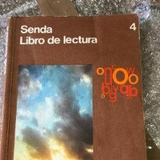 Libros de segunda mano: LIBRO LECTURA SENDA 4 SANTILLANA EGB . Lote 90677790