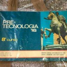 Libros de segunda mano: PRETECNOLOGIA 16 CURSO 8. Lote 90677980