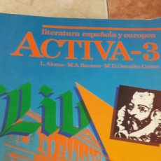 Gebrauchte Bücher - Literatura española. 3 bup. Vicens vives. - 92038099