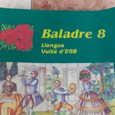 Libros de segunda mano: BALADRE. LLENGUA. 8. EGB. SANTILLANA.. Lote 92038975