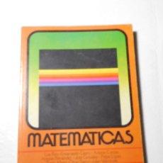 Libros de segunda mano: LIBRO DE TEXTO MATEMATICAS 4º EGB ED. ANAYA AÑO 1982 DIFICIL. Lote 92263060