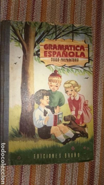 GRAMÁTICA ESPAÑOLA CURSO PREPARATORIO (Libros de Segunda Mano - Libros de Texto )