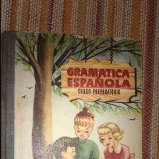 Libros de segunda mano: GRAMÁTICA ESPAÑOLA CURSO PREPARATORIO . Lote 92787362