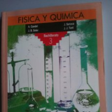 Libros de segunda mano: FISICA Y QUIMICA. 3º BACHILLERATO. ED. ANAYA. NUEVO!!!!!!. Lote 93071390