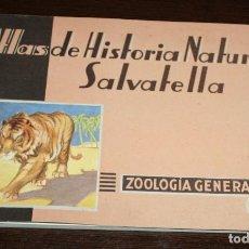 Libros de segunda mano: ATLAS DE HISTORIA NATURAL SALVATELLA, ZOOLOGIA GENERAL 1 - 1949. Lote 93129625