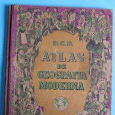 Libros de segunda mano - ATLAS DE GEOGRAFÍA MODERNA D.C.P. DALMAU CARLES PLA EDITORES, SIN FECHA. - 93765540