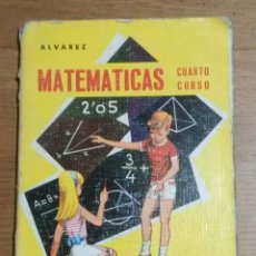 Libros de segunda mano: MATEMATICAS CUARTO CURSO 1966 MIÑON. Lote 93972269