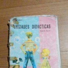 Libros de segunda mano: UNIDADES DIDACTICAS MIÑON CUARTO CURSO 1966. Lote 93972319