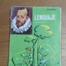 Libros de segunda mano: LENGUAJE CUARTO CURSO MIÑON 1966. Lote 93972653