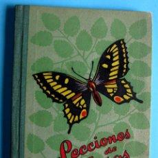 Libros de segunda mano: LECCIONES DE COSAS. LIBRO TERCERO. JOSÉ DALMAU CARLES. DALMAU CARLES PLA, S.A. 1960.. Lote 94120940