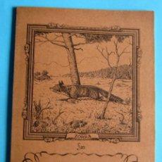 Livros em segunda mão: CUADERNO DE ESCRITURA SAM. ZORRA. REGISTRO FABRICANTE 15-SS, SIN FECHA.. Lote 94299918
