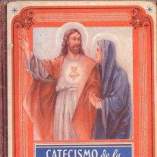 Libros de segunda mano: EDELVIVES : CATECISMO DE LA SANTÍSIMA VIRGEN Y DEL SAGRADO CORAZÓN (1949). Lote 94943183