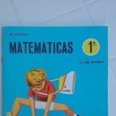Libros de segunda mano: CARTILLA/MATEMATICAS 1ºCURSO-CUADERNO 4/ALVAREZ/MIÑON./ NUEVO¡¡¡¡.. Lote 94996927