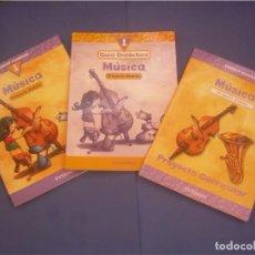 Libros de segunda mano: GUÍA DIDÁCTICA, LIBRO Y PROYECTO CURRICULAR 1 MÚSICA PRIMARIA. PROYECTO ÁNDOLA. EVEREST 2000. ESCOLA. Lote 95708167