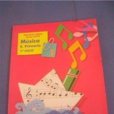 Libros de segunda mano: MÚSICA 1 1º EDUCACIÓN PRIMARIA PRIMER CICLO. EVEREST 1995. LIBRO DE TEXTO, ESCOLAR. Lote 95708415