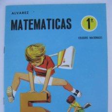 Libros de segunda mano: LIBRO-CARTILLA MATEMATICAS 1º ALVAREZ - CUADERNO 4 - EDITORIAL MIÑON - NUEVO SIN USAR - AÑO 1969. Lote 95876483