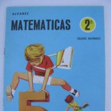 Libros de segunda mano: LIBRO-CARTILLA MATEMATICAS 2º ALVAREZ - CUADERNO 4 - EDITORIAL MIÑON - NUEVO SIN USAR - AÑO 1969. Lote 95876659