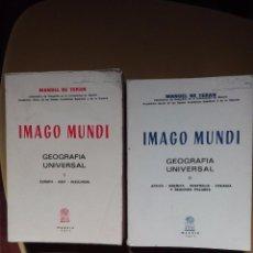 Libros de segunda mano: IMAGO MUNDI MANUEL DE TERÁN 1977. Lote 95993103