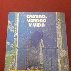 Libros de segunda mano: RELIGIÓN Y MORAL CATÓLICA. 5 EGB. CAMINO, VERDAD Y VIDA.. Lote 96007239