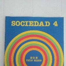 Libros de segunda mano: LIBRO EGB/4 SOCIEDAD SANTILLANA/NUEVO¡¡¡¡.. Lote 101290227