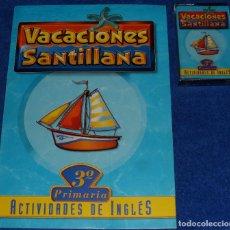 Libros de segunda mano: VACACIONES SANTILLANA - ACTIVIDADES EN INGLÉS - 3º CURSO - SANTILLANA. Lote 96180191