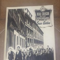 Libros de segunda mano: MEMORIA DEL CURSO ESCOLAR 1954 -55, REAL COLEGIO DE LAS ESCUELAS PIAS DE SAN ANTON, MADRID, COMPLETA. Lote 96290199