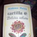 Libros de segunda mano: CARTILLA SISTEMA PALAU 4ª, LECTURA ACTIVA. Lote 96412455