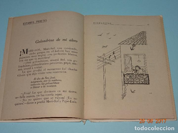 Libros de segunda mano: Antiguo Libro Escuela * HERMANITOS * de Josefina Álvarez Cánovas y Edit. Magisterio Español año 1948 - Foto 4 - 96574603