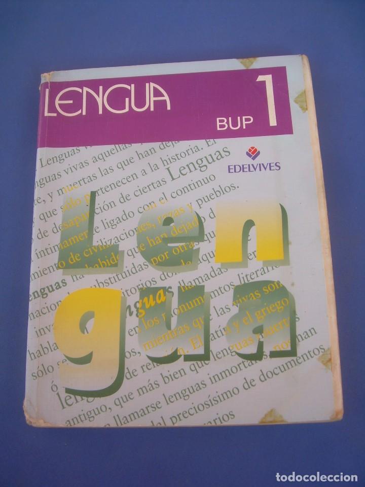 Lengua, 1 bup