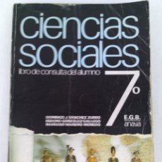 Gebrauchte Bücher - CIENCIAS SOCIALES 7 EGB.ANAYA.1974 - 96837419