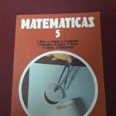 Libros de segunda mano: MATEMÁTICAS 5 EGB. ANAYA. L. RICO ET ALLI. NUEVO.. Lote 120668699