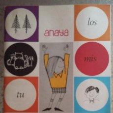 Libros de segunda mano: ANAYA EDITORIAL 1984. LECTURA PALAU METODO FOTOSILABICO. Lote 96943251