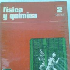 Libros de segunda mano: FISICA Y QUIMICA 2 BACHILLERATO.EDUCACION SANTILLANA 1976. Lote 111057110