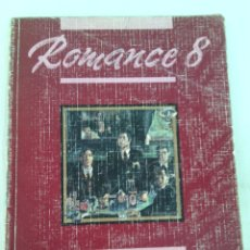 Libros de segunda mano: ROMANCE 8 LENGUA EGB SANTILLANA 1990. Lote 97456696