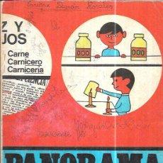 Libros de segunda mano: PANORAMA. CUADERNO DE TRABAJO CUARTO CURSO NÚMERO 2. ENSEÑANZA PRIMARIA. SANTILLANA 1969. Lote 97826103