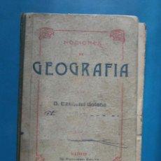 Libros de segunda mano: NOCIONES DE GEOGRAFIA. EZEQUIEL SOLANA. Lote 97851239