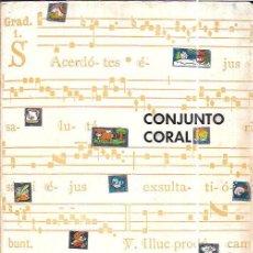 Libros de segunda mano: CUESTIONARIO TEÓRICO ADAPTADO ASIGNATURA DE CONJUNTO CORAL. JOSE LUIS LOPEZ GARCÍA.1977. Lote 97894095